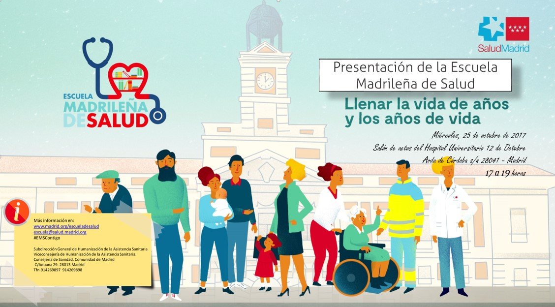 Apúntate al acto inaugural de la Escuela Madrileña de Salud