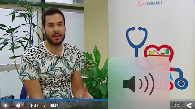 La salud en internet en Telemadrid noticias