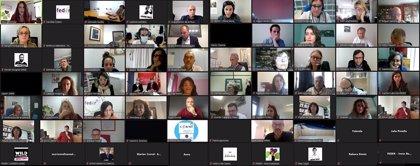 Fotografía de la reunión con expertos y pacientes en la  I Conferencia Foresight 2030