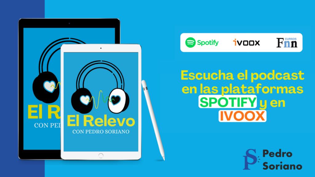 Programa completo del episodio 4 del podcast El Relevo con noticias de Salud Digital y Enfermeras.