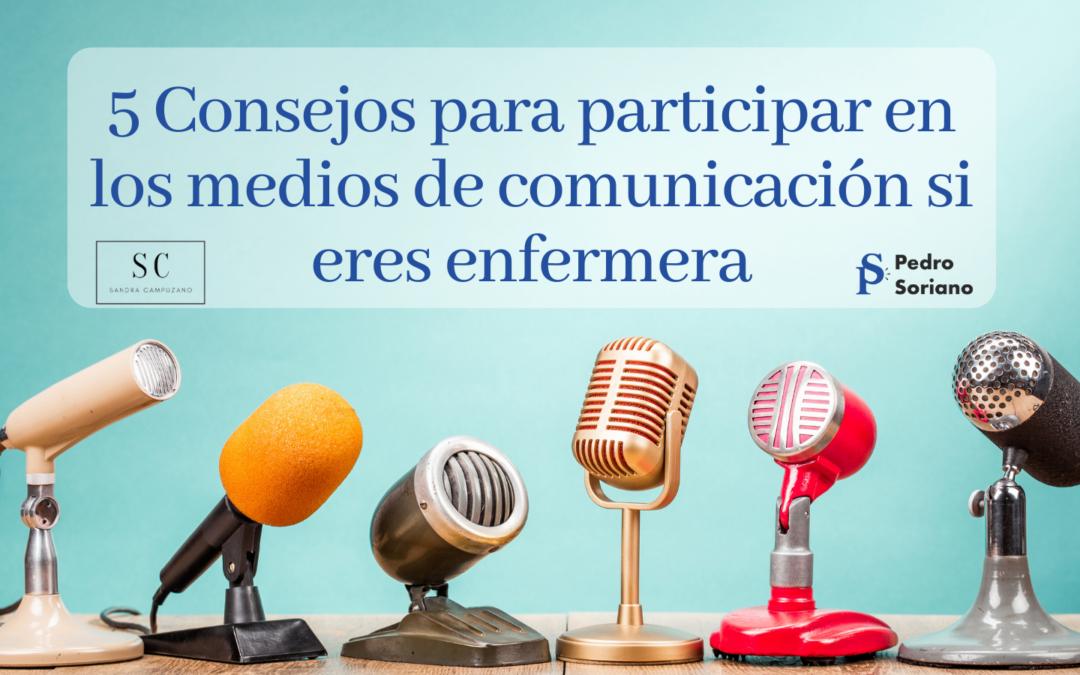 5 Consejos para participar en los medios de comunicación